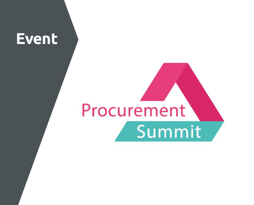 29. – 30. September 2021 · Procurement Summit · Berlin